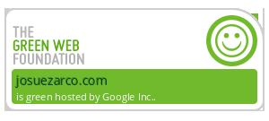 Esta Web esta en un Hosting Eco - certificado  por thegreenwebfoundation.org