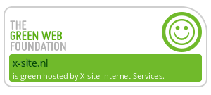 X-site Internet Services Groene Hosting - checked by thegreenwebfoundation.org